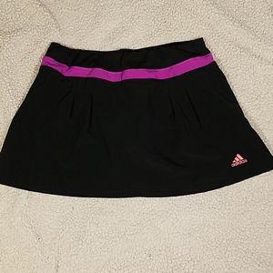 Adidas Climalite Skort Black & Purple Sz S